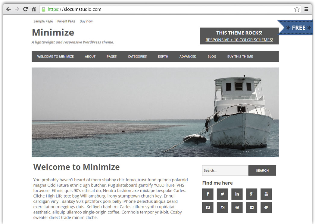 minimize-featured-free