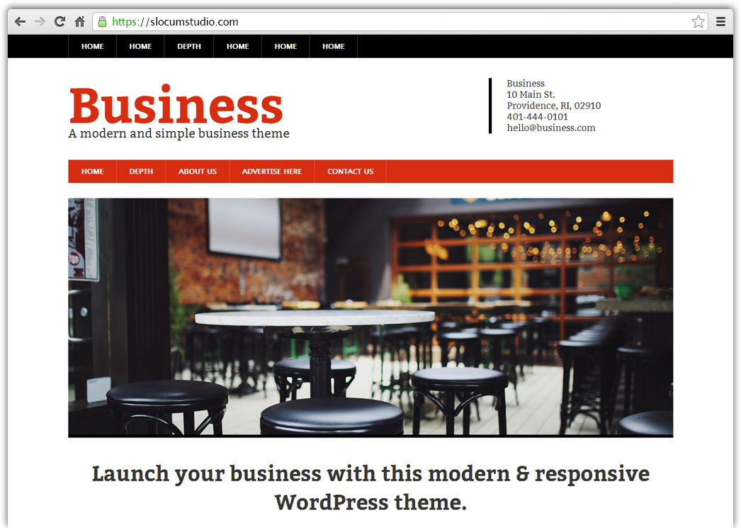 Modern Business Pro - Slocum Themes