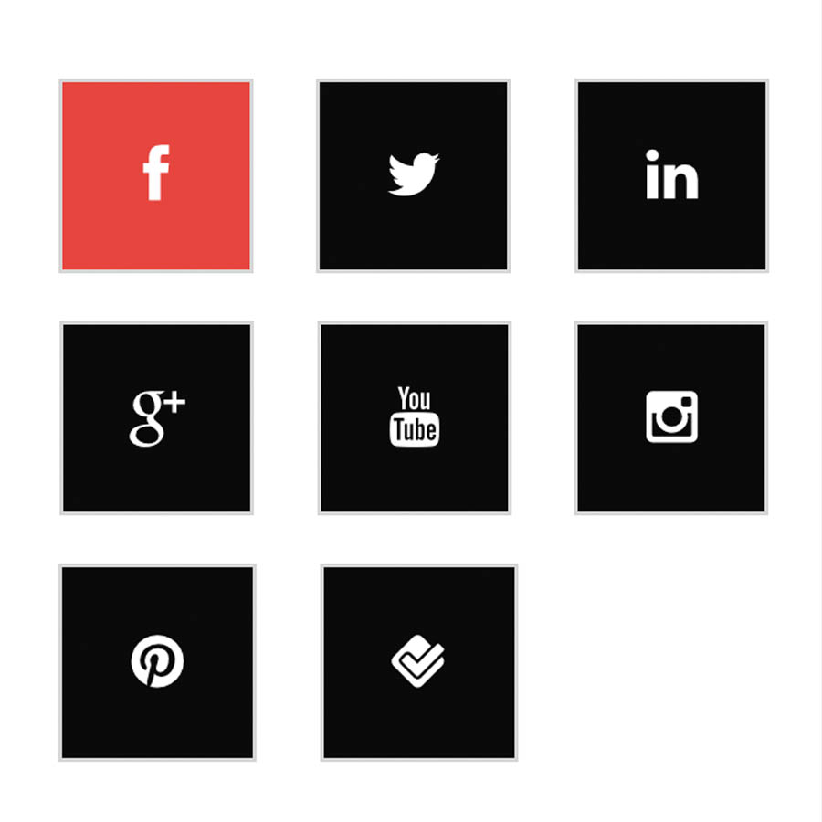 Add Social Media buttons WordPress website