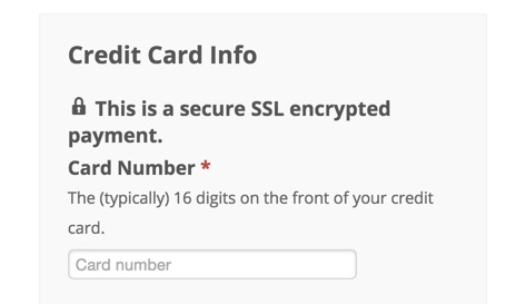 Secure SSL on checkout