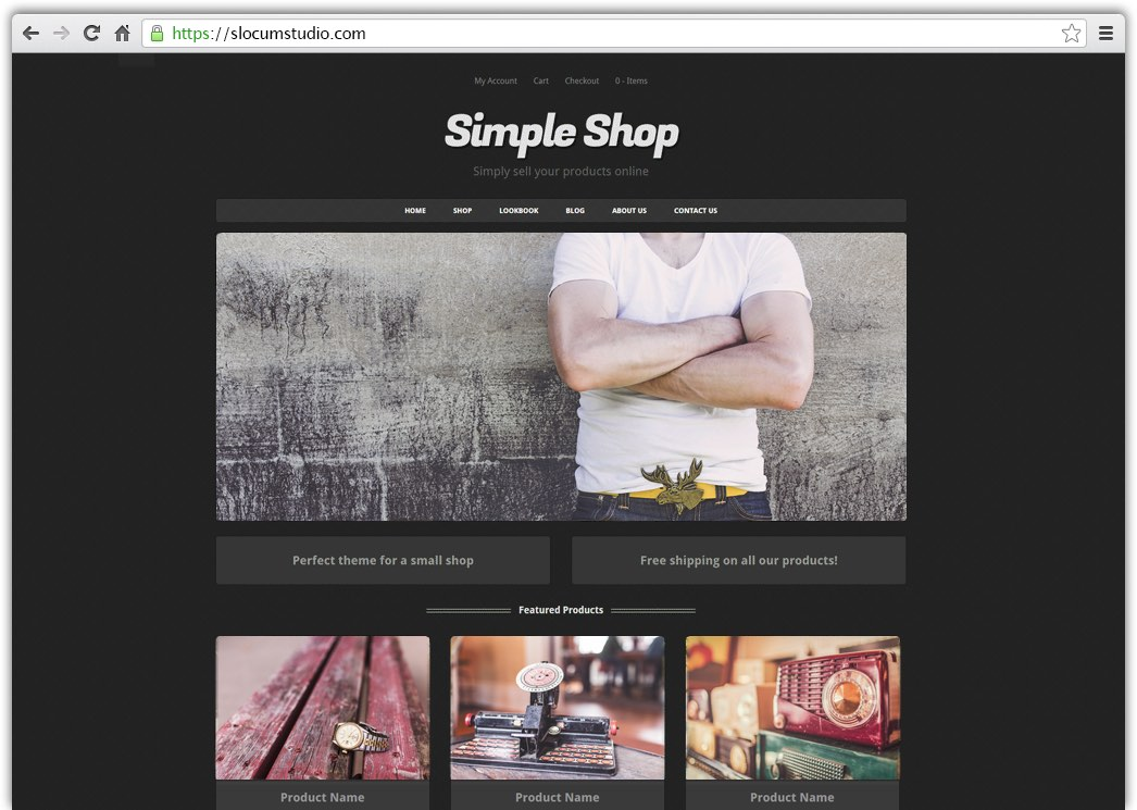 Simple Shop Pro WordPress Theme